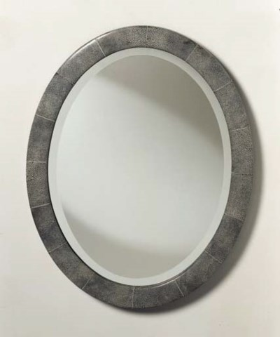 A Shagreen and Ivory Mirror Fr