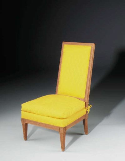 An Upholstered Chauffeuse