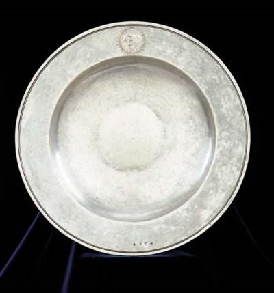 A Charles I silver basin