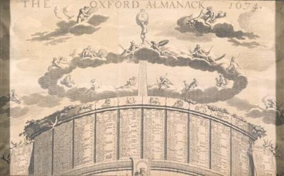 The Oxford Almanac, 1674