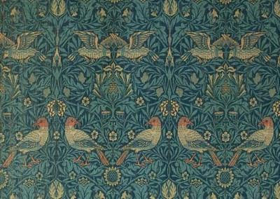 A pair of 'Bird' woollen curta