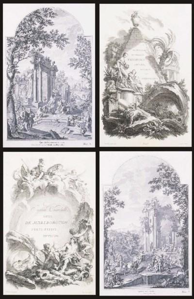 Eighteen 18th century Venetian