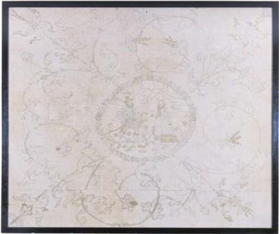 A Swiss altar cloth