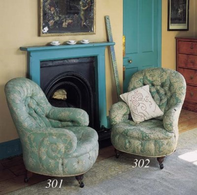 A pair of early Victorian tub