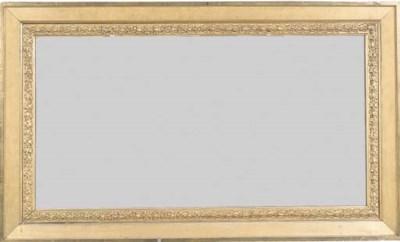 A George IV giltwood and gilt-