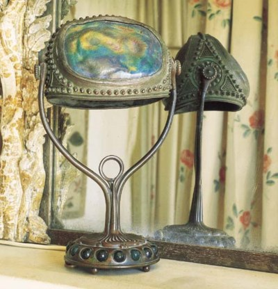 An American Art Nouveau brass