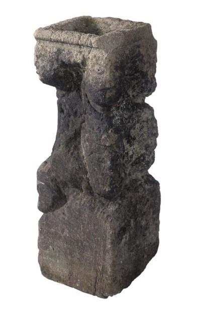 A Celtic sculpted sandstone co