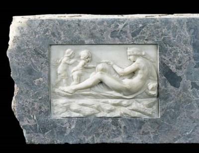 A George III breccia marble ch