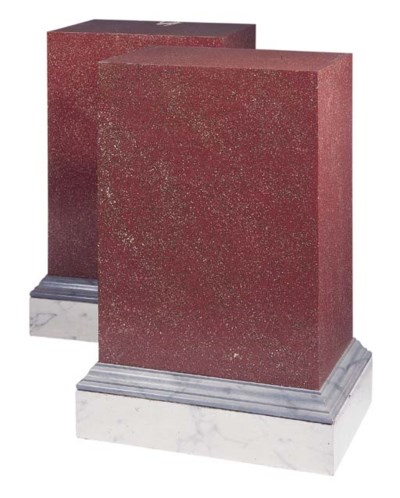 A pair of simulated porphyry p
