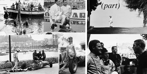 Monaco Grand Prix - A large co