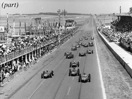 Motor Racing Grids - A collect