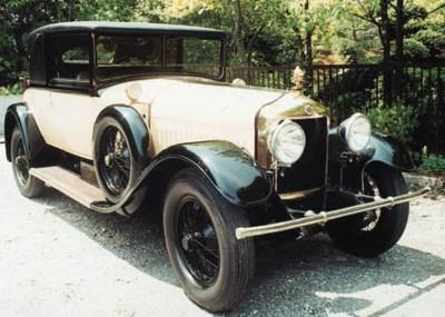 1924 MINERVA MODEL WW 30hp FAU