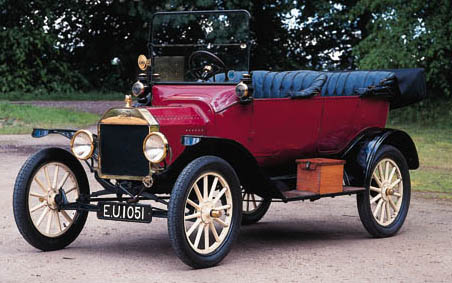 1916 FORD MODEL T FIVE-SEATER