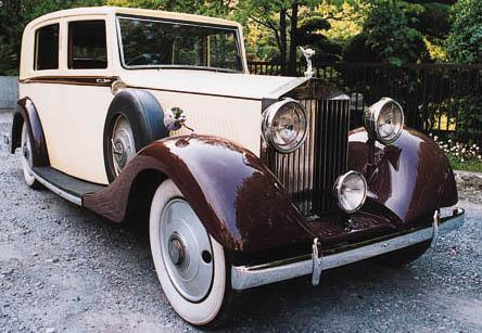 1935 ROLLS-ROYCE 20/25hp LIMOU