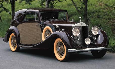1938 ROLLS-ROYCE 25/30hp SEDAN