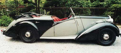 1939 DAIMLER 2½ LITRE 'DOLPHIN