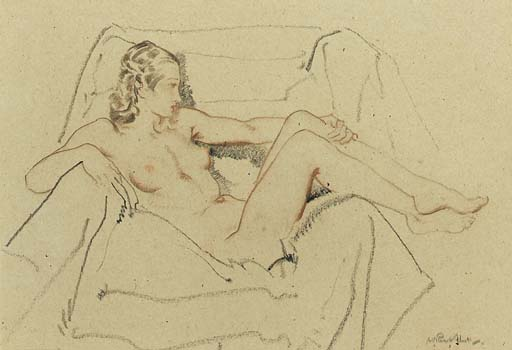 Sir William Russell Flint, R.S.W., P.R.W.S., R.A., (1880-1969)