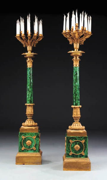 A pair of Neo-Classical malach