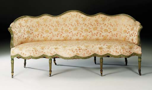 A LATE VICTORIAN TWO-TONE GREE