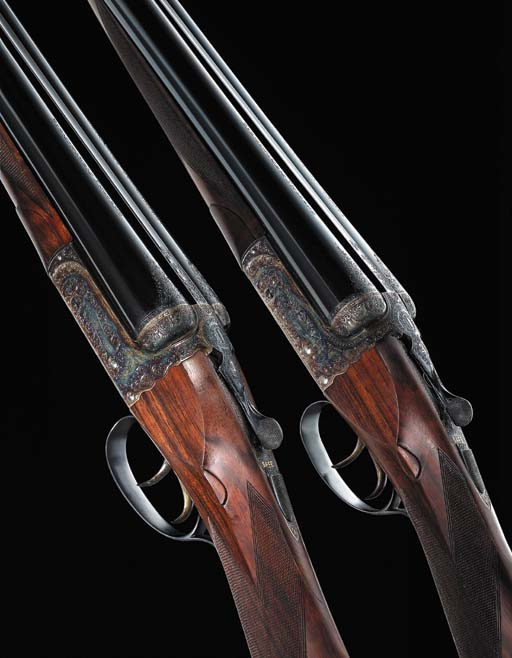 A PAIR OF 12-BORE (2¾IN) 'THE