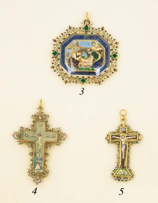 An 18th Century Cross Pendant