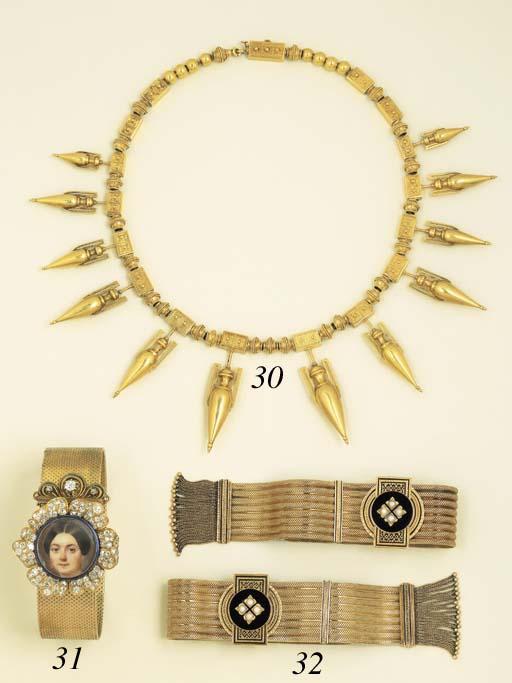 An Etruscan Revival Necklace