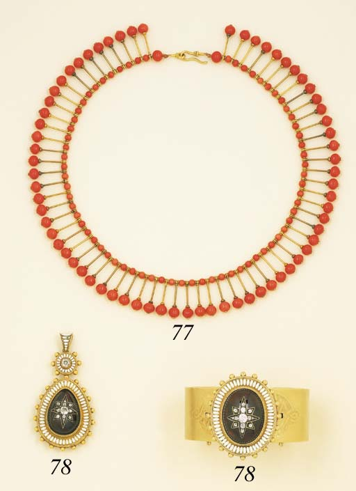 An Antique Coral Necklace, By