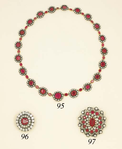 An Attractive Antique Ruby and