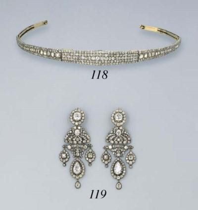 A Pair of George III Diamond A