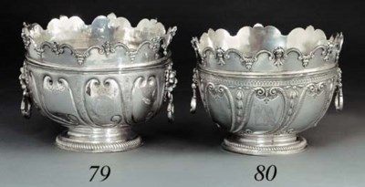 A William III two-handled silv