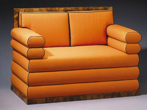 An Upholstered Biedermeier Set