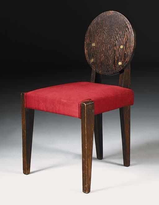 An Upholstered Side Chair