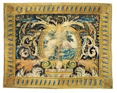 A LOUIS XIV SAVONNERIE CARPET