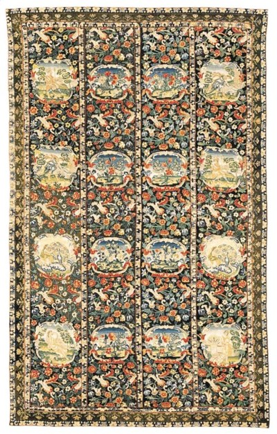 A LOUIS XIII NEEDLEWORK CARPET