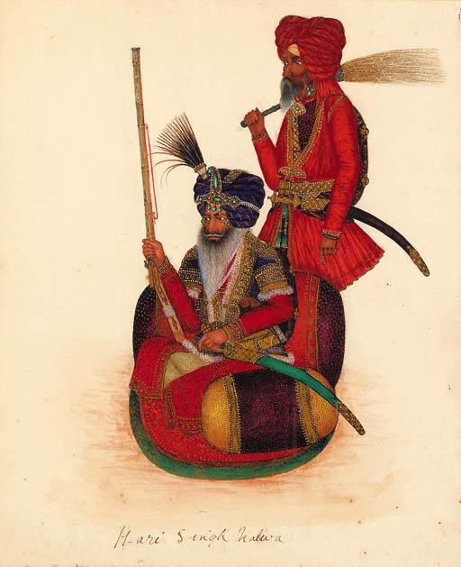Sikh Artist, circa 1840
