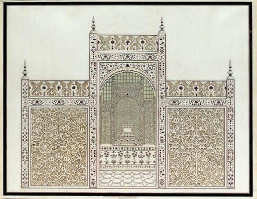Agra School, circa 1816