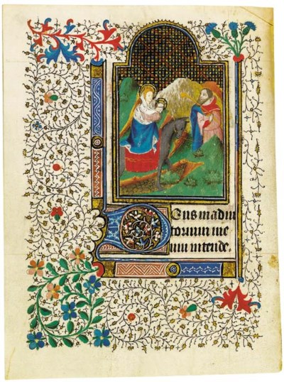 BOOK OF HOURS, use of Angers,