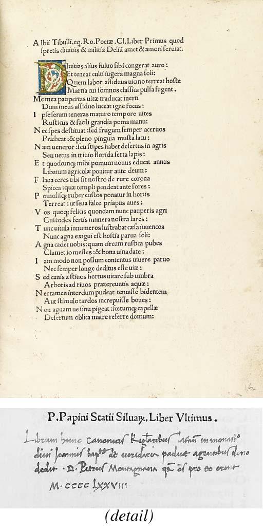 TIBULLUS, Albius (c. 55/48-c.
