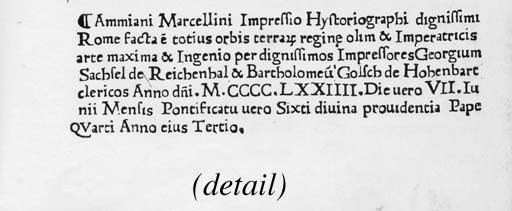 AMMIANUS MARCELLINUS (c.330-95