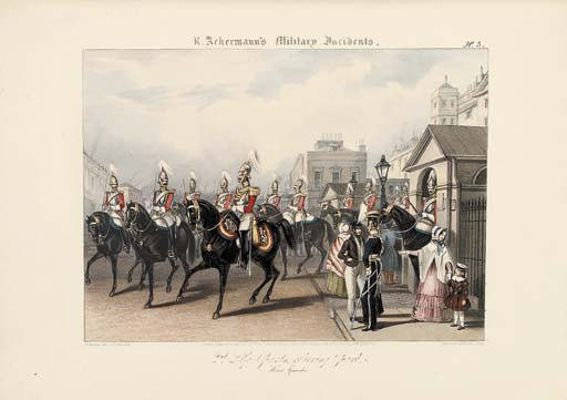 [ACKERMANN, Rudolph (publishers).  Military Incidents. London: R. Ackermann, 1842-1844].