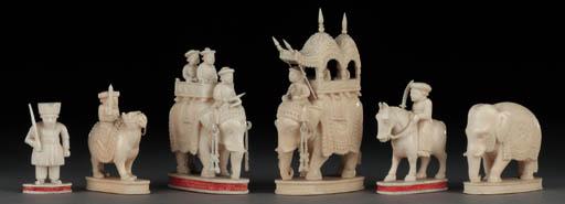 An Indian ivory John Company t