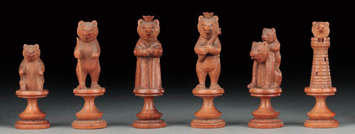A Swiss softwood carved Bears