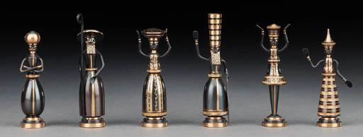 An Israeli enamelled and gilt