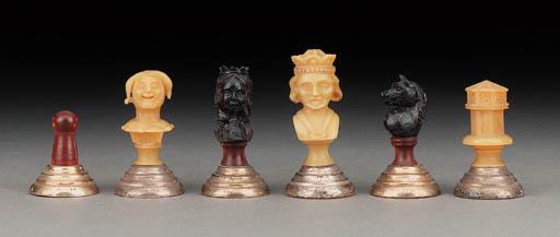 A Central European amber bust
