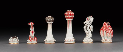 A Meissen porcelain polychrome