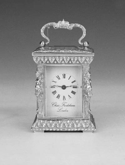 A mounted timepiece,