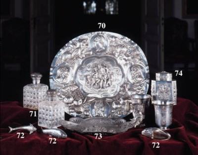 A Continental silver articulat