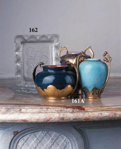 A pair of Lalique 'Bluets' cle