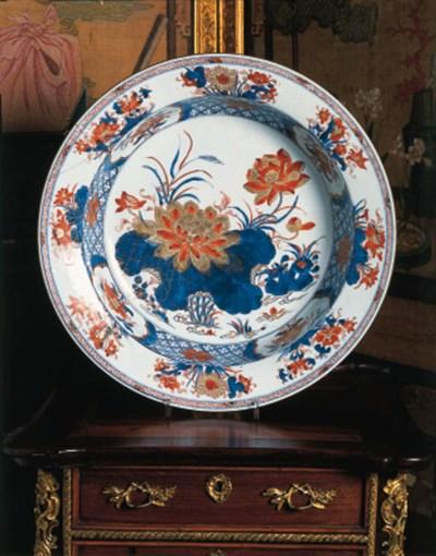 A Chinese Imari circular basin