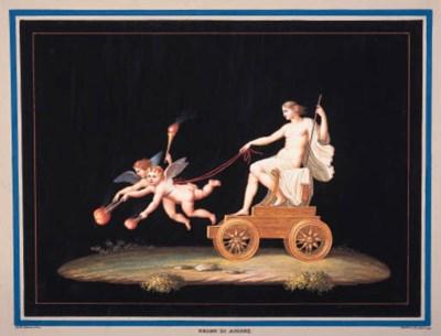 ROMAN MOSAIC DESIGNS -- A larg